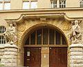 Berlin Friedrichshagen Aßmannstraße 11 Wilhelm-Bölsche-Schule (Portal).JPG