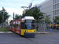 Berlin Hellersdorf Tram, route M6 (7990722354).jpg