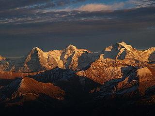 Bernese Alps Part of the Alps mountain range in Switzerland