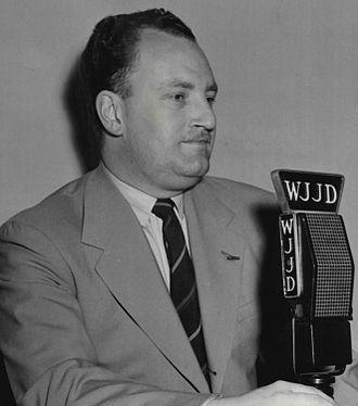 Bert Wilson (sportscaster) - Wilson in 1949.