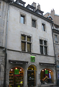 Besançon - 10 rue Battant - facade.JPG