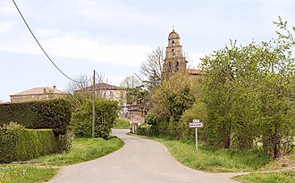 Bessens - Image: Bessens Chemin de Verdun