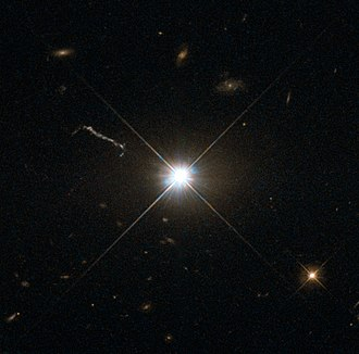 3C 273 - Quasar 3C 273 taken by Hubble Space Telescope.