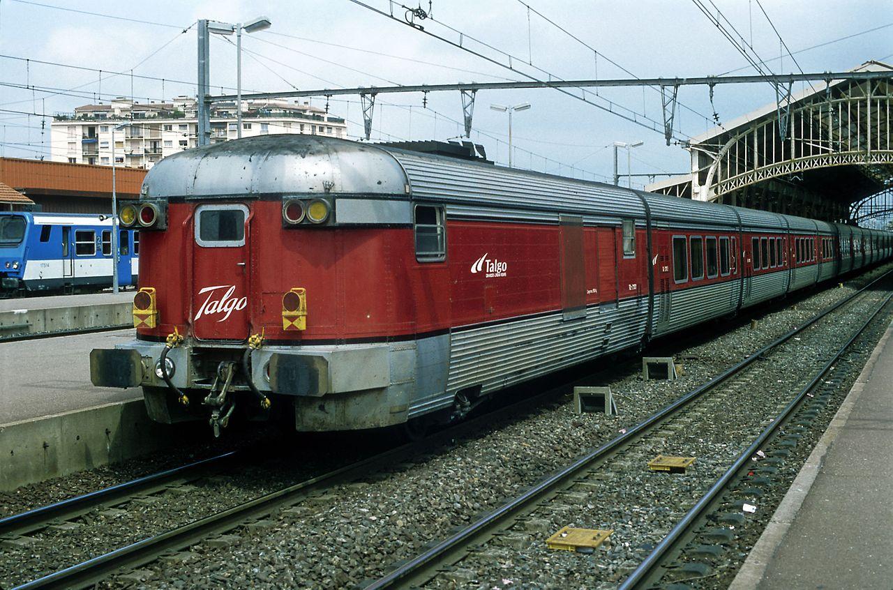 Talgo III szerelvény, Perpignan állomás