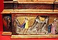 Bicci di lorenzo, annunciazione tra i ss. michele, giacomo minore, margherita e giovanni e., 1414 (stia, s.m. assunta) 04.JPG