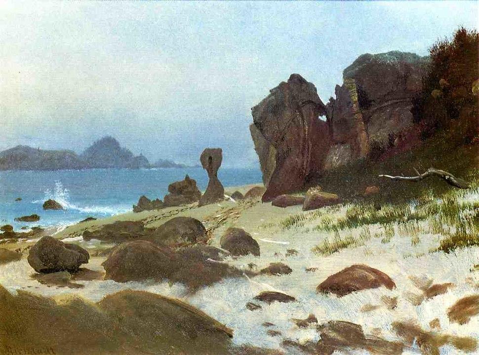 Bierstadt Albert Bay of Monterey