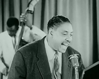 Big Joe Turner - Turner performing as part of the Rock and Roll Revue (1955)