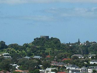 Three Kings, New Zealand - Big King from Mt Albert