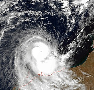 1998–99 Australian region cyclone season - Image: Billy Dec 4 1998 0231Z