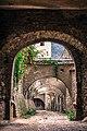 Biserica fortificată din Biertan arcade interior.jpg