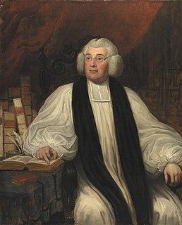 Thomas Burgess (bishop) English author, philosopher, Bishop of Saint Davids and Bishop of Salisbury