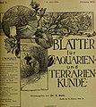Blätter für Aquarien- und Terrarien-Kunde (1905) (20393410921).jpg
