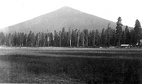 Vue de Black Butte en 1903