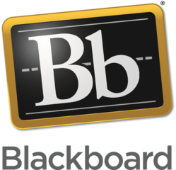 Blackboard Inc. logo, is an educational technology company with corporate headquarters in Washington DC, USA