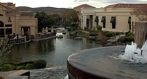 Blackhawk, California - The Blackhawk Plaza