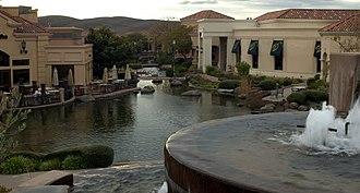 Blackhawk, California - The Blackhawk Plaza