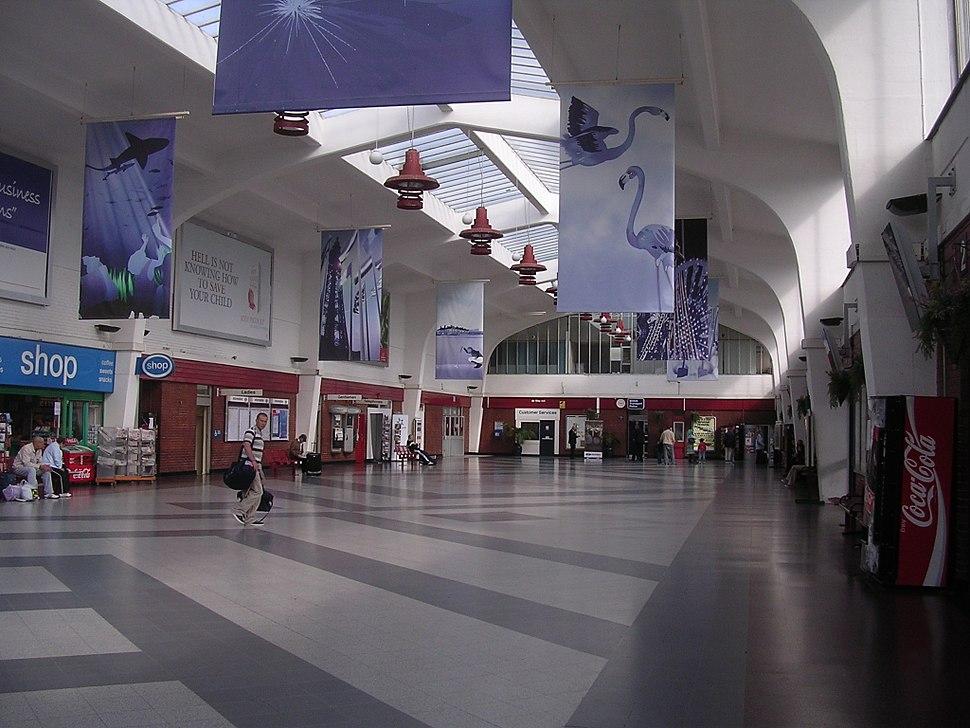 Blackpool North railway station interior