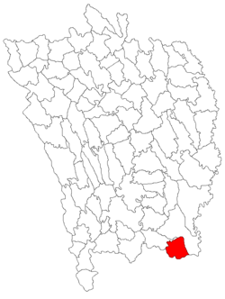 Location of Blăgeşti