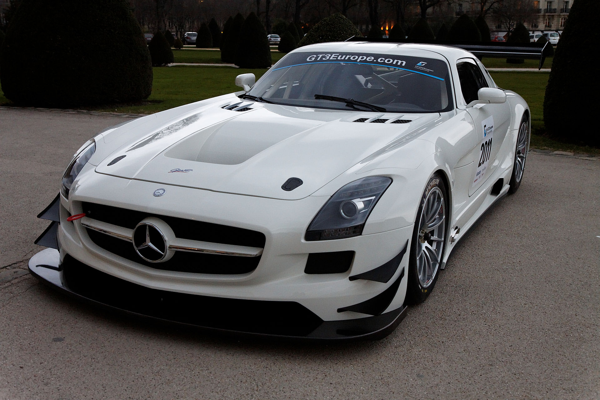 mercedes benz sls amg gt3 wikip dia. Black Bedroom Furniture Sets. Home Design Ideas