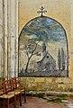 Blanzac-16 Église fresque chapelle latérale gauche 2014.jpg