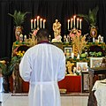 Blessing the St. Joseph Altar XULA New Orleans.jpg