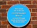 Blue plaque, Aldrich Road, Oxford - geograph.org.uk - 1984954.jpg