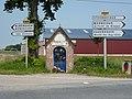 Boëseghem (Nord, Fr) oratoire rue de la chapelle.JPG