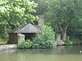 Boat House Douster Pond, Buchan Country Park, Crawley, West Sussex - geograph.org.uk - 1386070.jpg