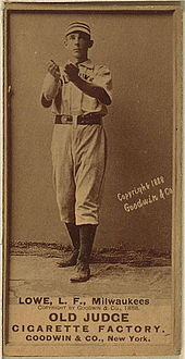 Bobby Lowe was the first MLB player to ever hit four home runs in a single game, doing so in 1894. Fans were so excited on the day that they threw silver coins onto the field following his fourth.