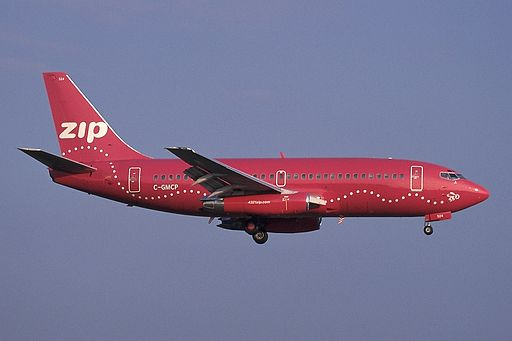 Boeing 737-217-Adv, Zip Air AN0256511
