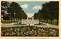 Boer War Memorial at Jackson Park, postcard, 1940s.jpg