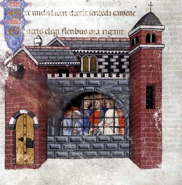 Boethius imprisoned Consolation of philosophy 1385