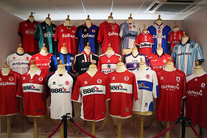 Middlesbrough F.C. - Middlesbrough shirts, 1994–2010