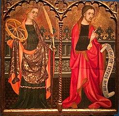 Santa Caterina d'Alexandria i Jesucrist