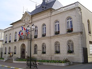 Bourg-la-Reine - The town hall of Bourg-la-Reine