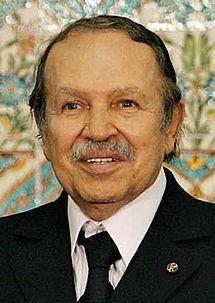 Abdelaziz Bouteflika, President of Algeria since 1999.
