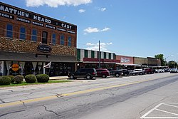 Downtown Bowie, Texas