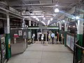 Boylston station outbound fare area, July 2016.JPG