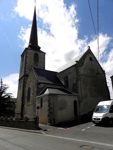 Église Saint-Gervais et Saint-Protais de Brée (53).