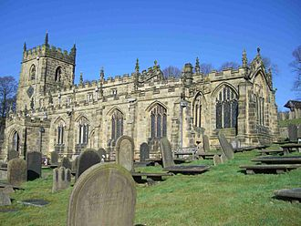 Listed buildings in Sheffield - Image: Bradfield Church 1
