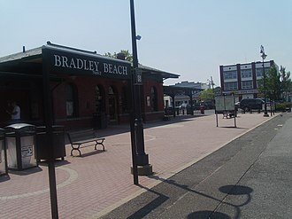 Bradley Beach, New Jersey - Bradley Beach station, which is served by NJ Transit's North Jersey Coast Line
