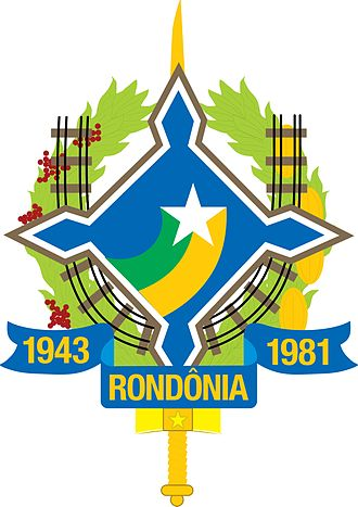Rondônia - Image: Brasao Rondonia