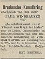 Bredasche Courant vol 081 no 147 advertisement Causerie van den Heer Paul Windhausen.jpg