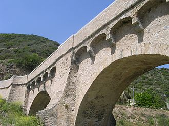 Battle of Ponte Novu - Image: Bridge of Ponte Novu Corsica 2008 arches