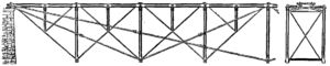 1854 in science - Fink truss