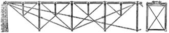 1854 in science - Fink truss