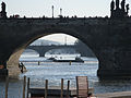 Bridges in Prague over Vltava-Prague.jpg
