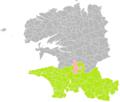 Briec (Finistère) dans son Arrondissement.png