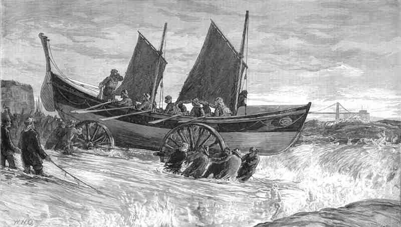 Brighton Lifeboat 1875