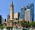Brisbane City Hall, 275 George Street, 69 Ann Street, 300 George, Brisbane, Feb 2020.jpg
